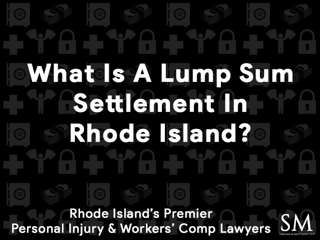 what-is-lump-sum-settlement-rhode-island